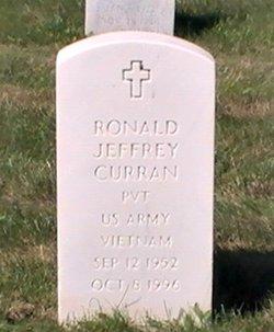 Pvt Ronald Jeffrey Curran
