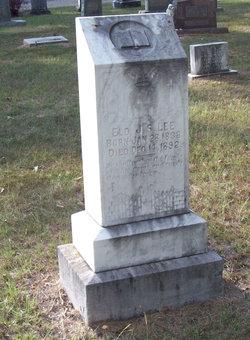 Elder John Stephen Lee