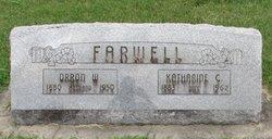 "Emma Catherine ""Kit"" <I>Lindzey</I> Farwell"