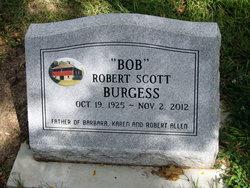 "Robert Scott ""Bob"" Burgess"