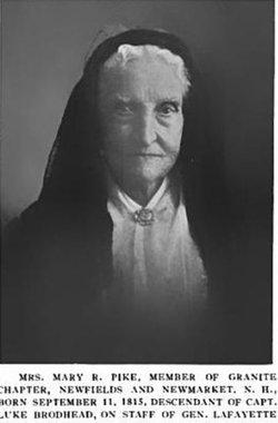 Mary Rebecca <I>Brodhead</I> Pike