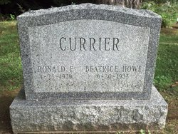 Ronald F Currier