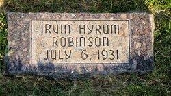Irvin Hyrum Robinson