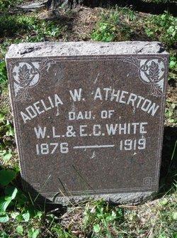 Adelia W <I>White</I> Atherton