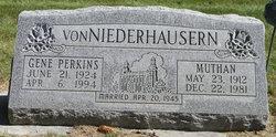 Gene <I>Perkins</I> Niederhauser