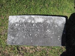 Annie Ethel <I>Jones</I> Avara