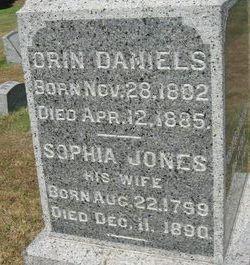 Sophia <I>Jones</I> Daniels