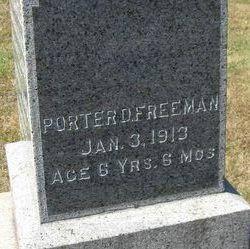 Porter D Freeman