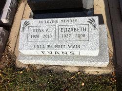 Elizabeth <I>Dickey</I> Evans
