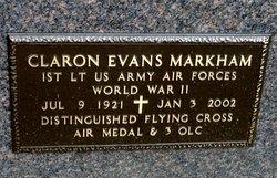 """Dr Claron Evans """"Pete"""" Markham"""
