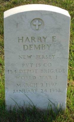 Harry E Demby