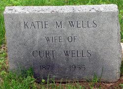Katie M <I>Meloan</I> Wells