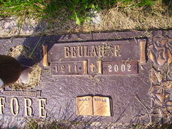 Beulah F <I>Brown</I> Fore