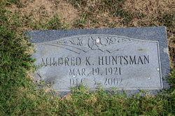 Mildred Inez <I>Kennedy</I> Huntsman