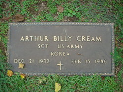 "Arthur Billy ""Butch"" Cream"