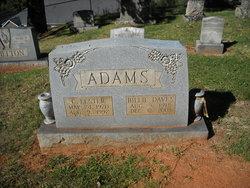 Billie Elizabeth <I>Daves</I> Adams