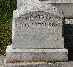 Charlotte <I>Robertson</I> Letcher