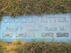 Rose Mary <I>Guidinger</I> Gutschenritter
