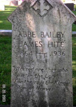 Abbe Bailey <I>James</I> Hite