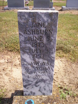 Mary Jane <I>Blackstone</I> Ashburn
