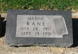 Maxine <I>Wright</I> Kane