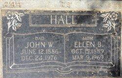 Ellen <I>Burris</I> Hall