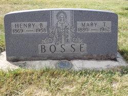 Mary Theresa <I>Kinzer</I> Bosse