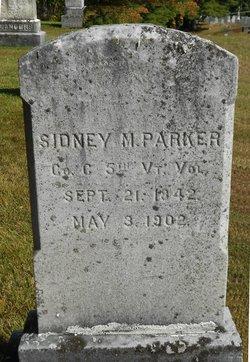 Sidney M Parker