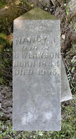 Nancy J. <I>Cox</I> Lawson