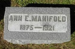 Ann E. Manifold
