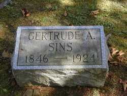 Gertrude <I>Wilbert</I> Sins
