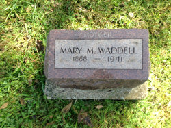 Mary Margaret <I>Cook</I> Waddell