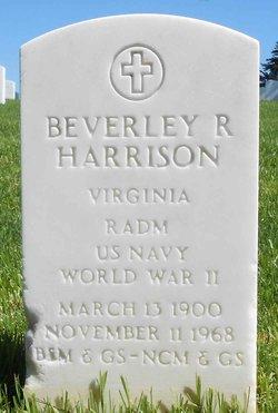RADM Beverley Randolph Harrison Jr.