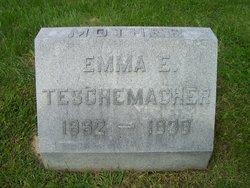 Emma <I>Hudson</I> Teschemacher