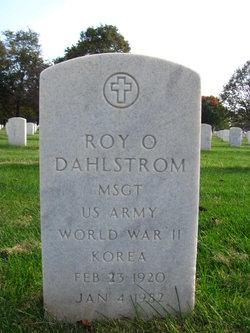 Roy Olaf Dahlstrom