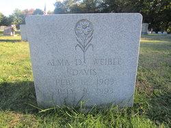 Alma <I>Deutsch Davis</I> Weible