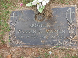 Warren Clinton Martin