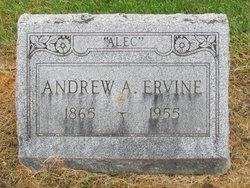 """Andrew A. """"Alec"""" Ervine"""