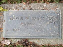 Myrtle May <I>Triplett</I> Raines