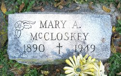 Mary A McCloskey