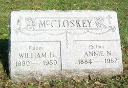 Annie N <I>Maloney</I> McCloskey
