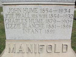 "Josephine L. ""Joie"" <I>Prall</I> Manifold"