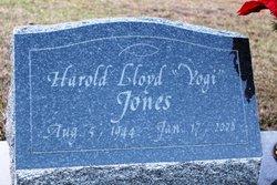 """Harold L """"Yogi"""" Jones"""
