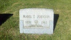 Mabel Frances <I>Hamm</I> Johnson