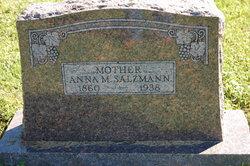 Anna Marie <I>Donner</I> Salzmann