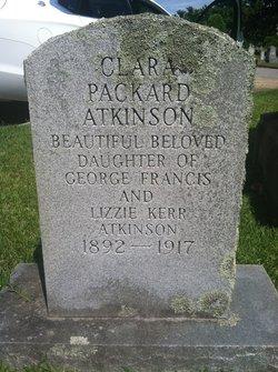 Clara Packard Atkinson