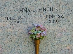 Emma J. <I>Bales</I> Finch