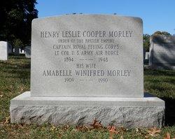 Henry Leslie Cooper Morley