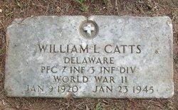 PFC William Leslie Catts
