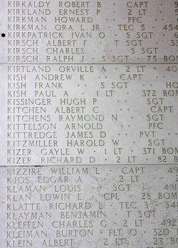 Capt Robert B Kirkaldy